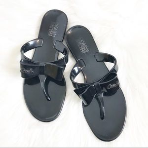 84d935578f6d6a Women s Coach Jelly Flip Flops With Bow on Poshmark